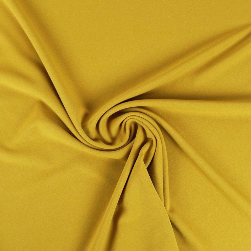 Tissu Crêpe mousseux lourd ocre