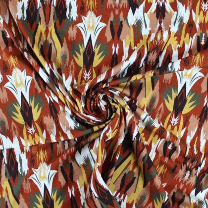 Tissu Jersey coton Esprit d'automne