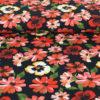 Tissu Jersey coton à fleurs