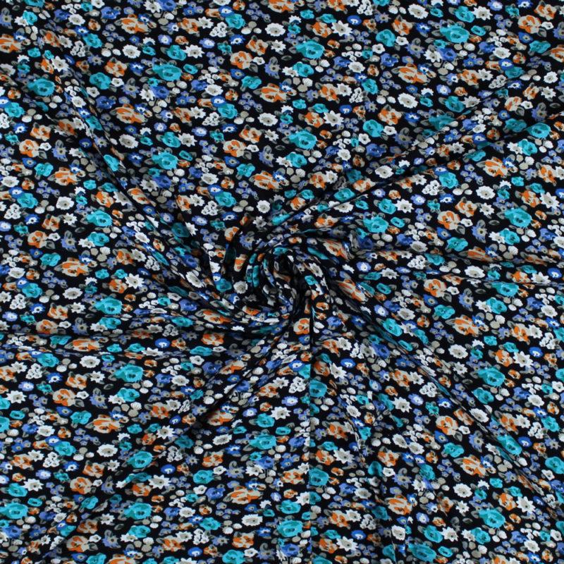 Tissus Jersey viscose fleurettes