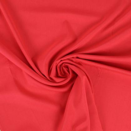 Tissu Viscose rouge