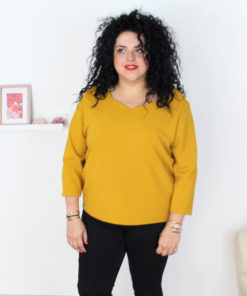 patron couture blouse grande taille