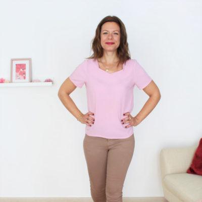 patron blouse Penta Marina