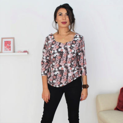 patron couture blouse facile Penta