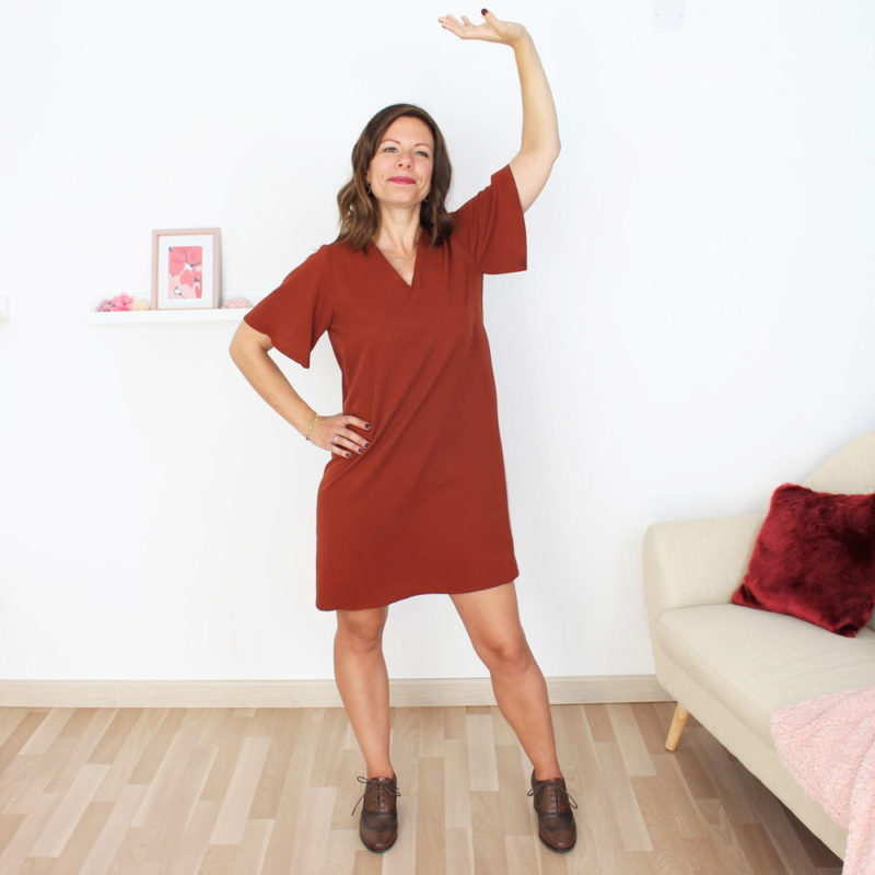 patron couture robe débutant graziella