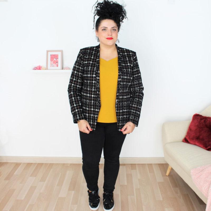patron couture veste Monica