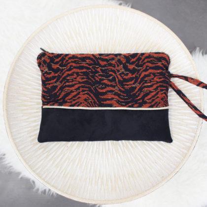 Kit de couture pochette Mila Volcan