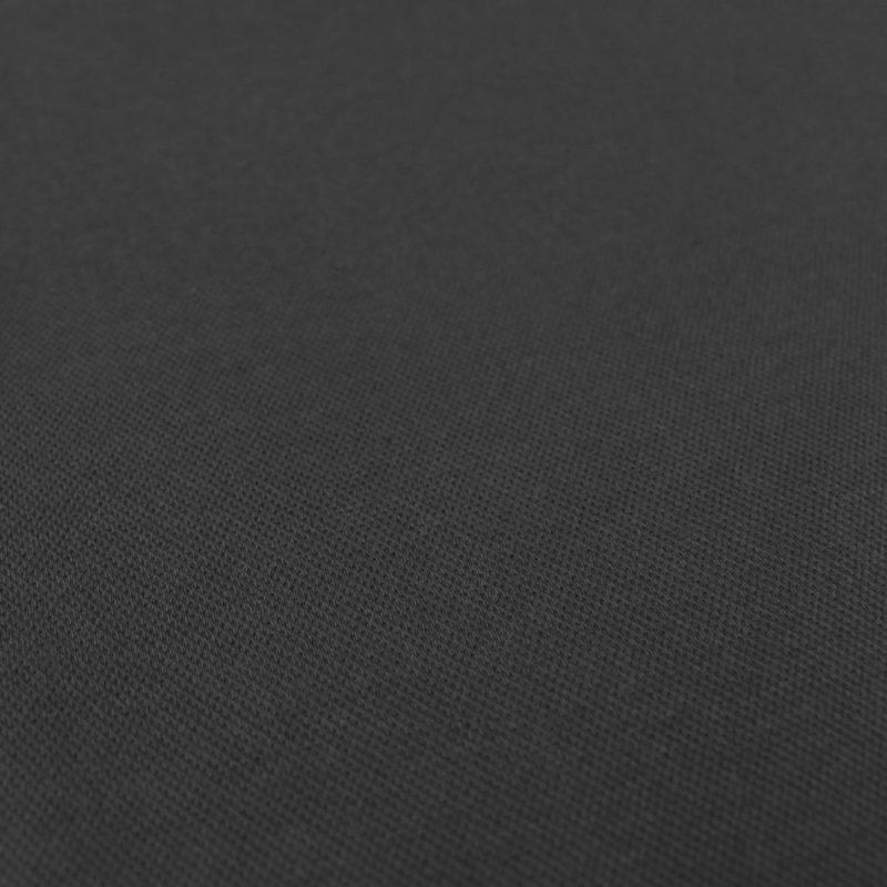 Tissu Maille polo - noir
