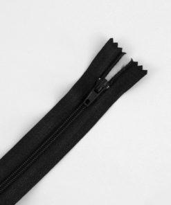 Zip classique noir
