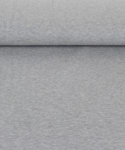 Tissu Sweat - gris chiné
