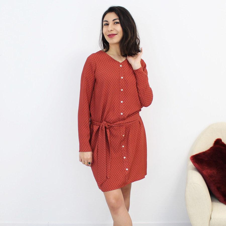 Patron robe MS Février