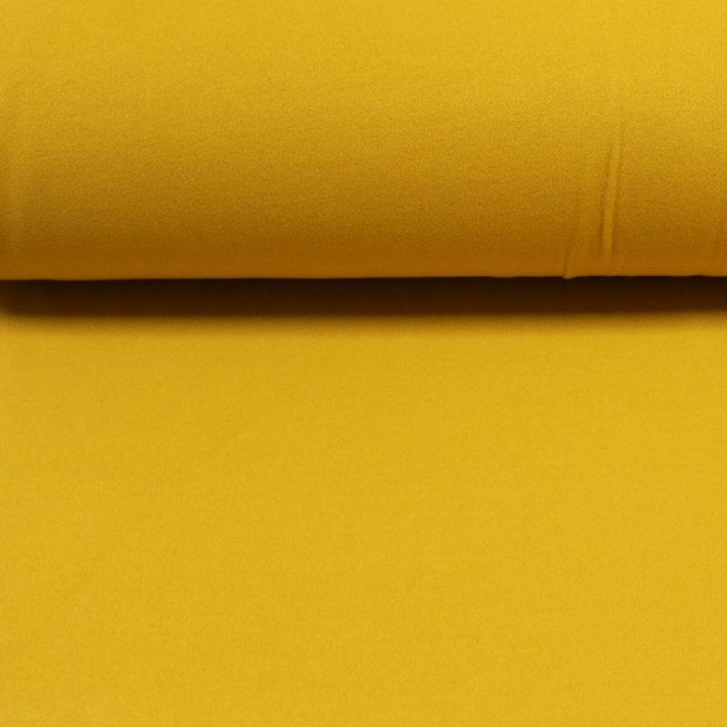 Tissu Faux lainage - moutarde