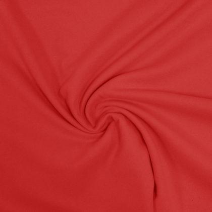 Tissu Faux lainage - rouge