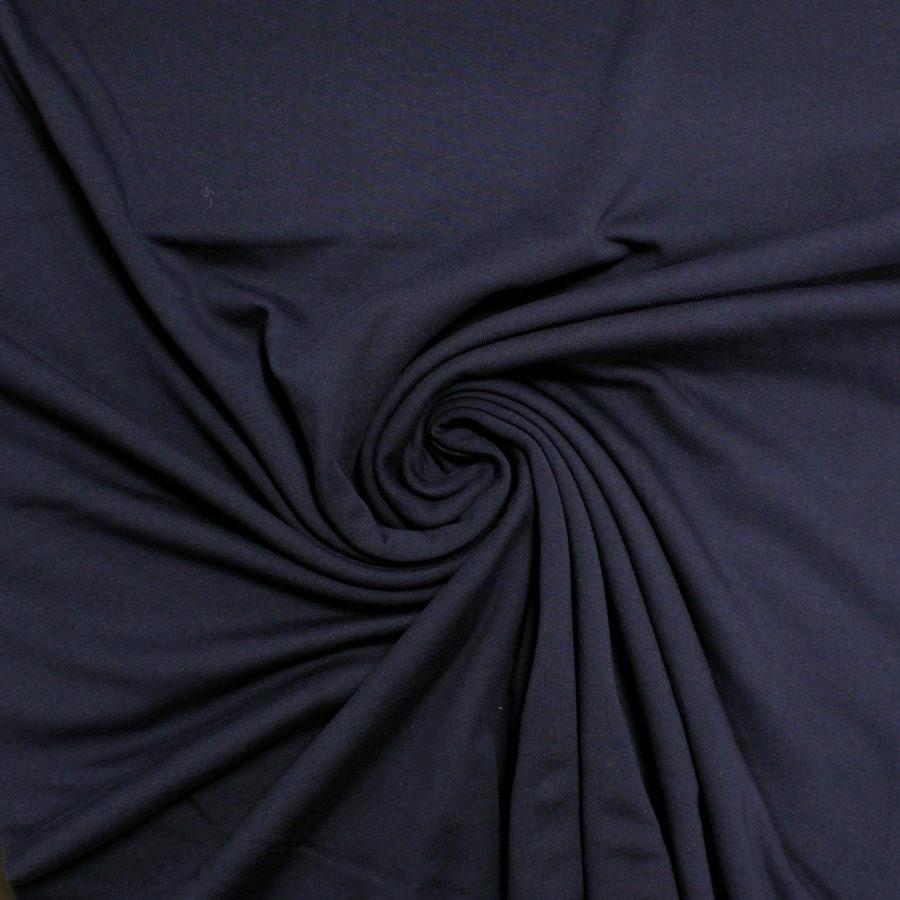 Tissu Sweat - bleu marine