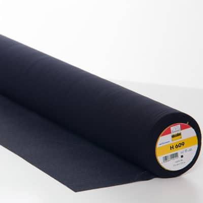 Entoilage thermocollant H609 noir - spécial maille