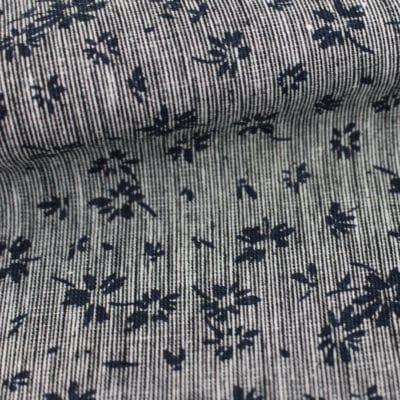 Lin coton fleuri