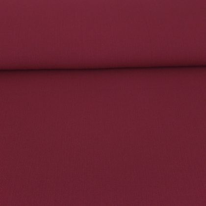 Tissu Crêpe gaufré bordeaux