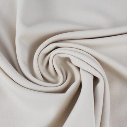 Gabardine stretch beige clair