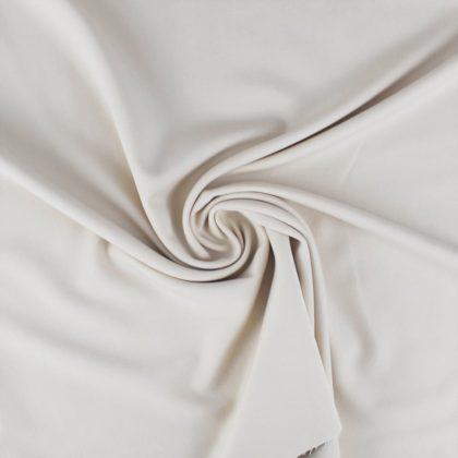 Gabardine stretch beige clair