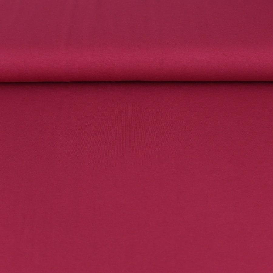 Jersey de coton - framboise