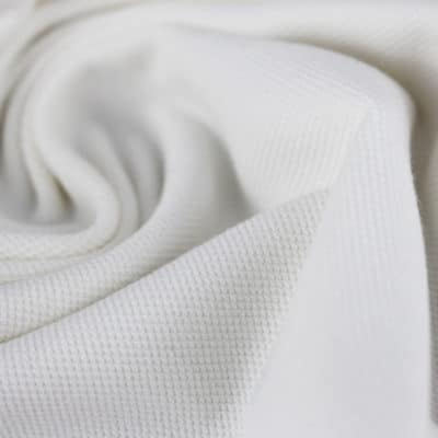 Maille polo - blanc