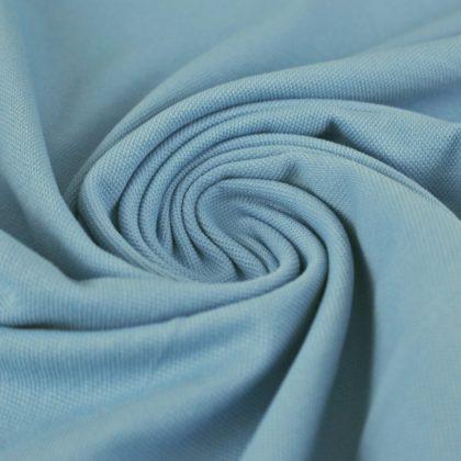 Maille polo - bleu