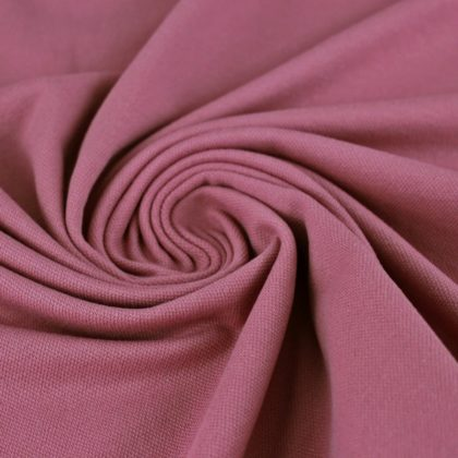 Maille polo - rose des bois