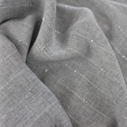 Viscose lurex - gris