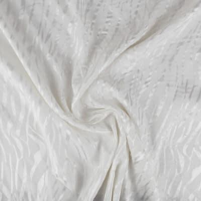 Tissu Viscose Fire - écru