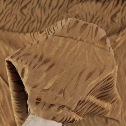 Tissu Viscose Fire - tabac