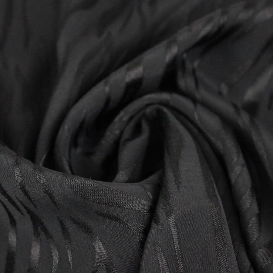 Tissu Viscose Fire - noir