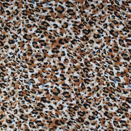 Tissu Viscose Panthere