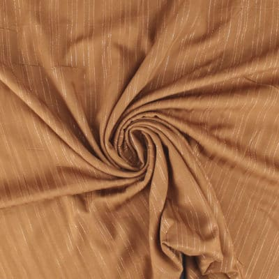Viscose lurex tabac