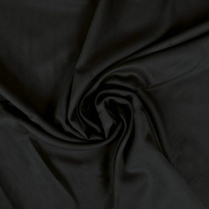 Tissu Tencel noir