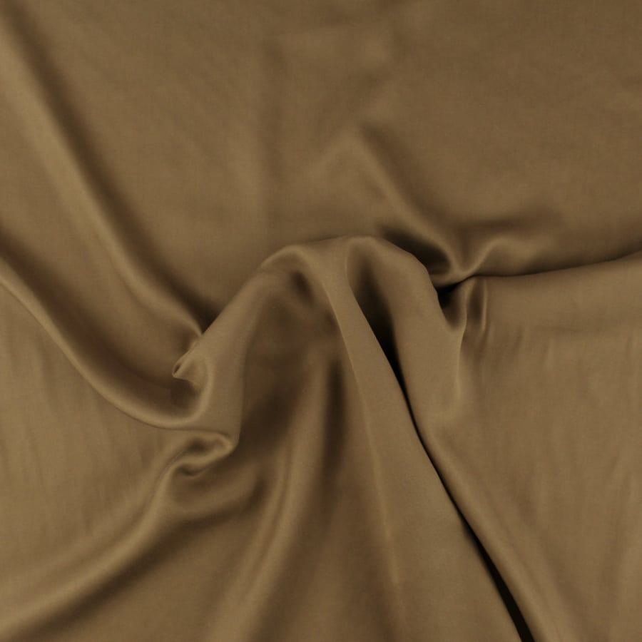 Tissu Tencel tabac