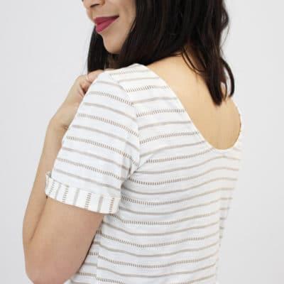 Patron T-shirt MS Juin