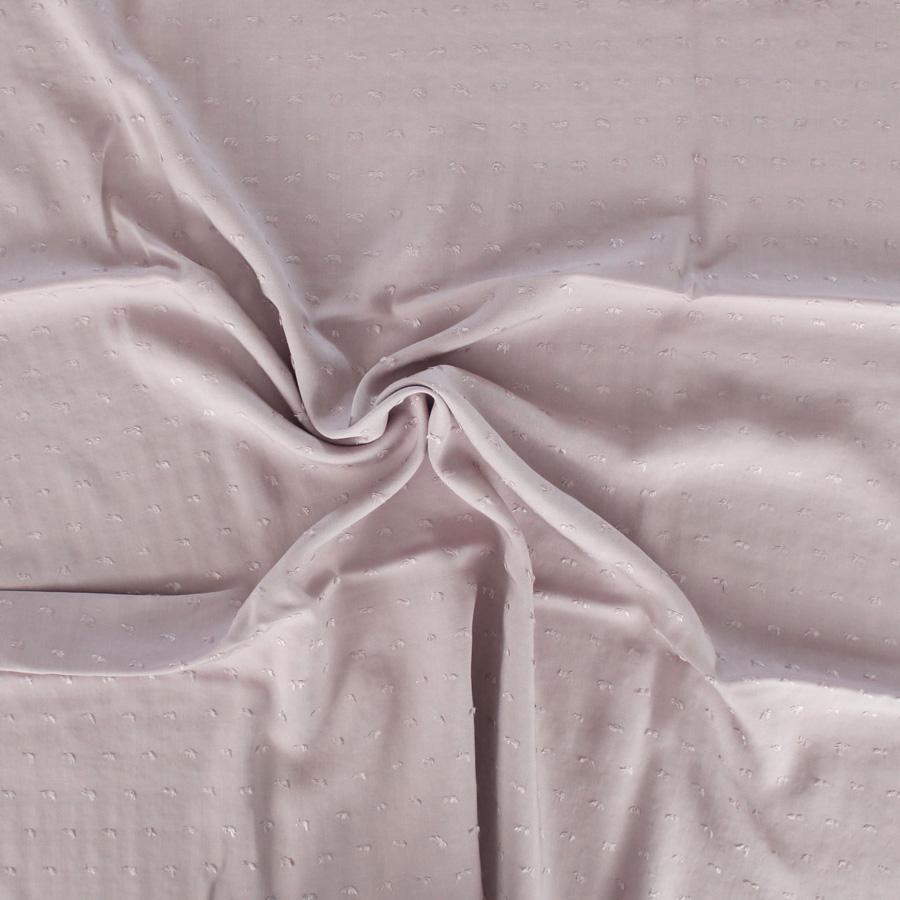 Tissu Viscose plumetis - vieux rose