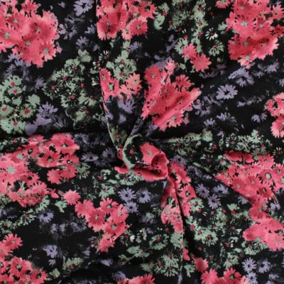 Jersey viscose Flower Brush