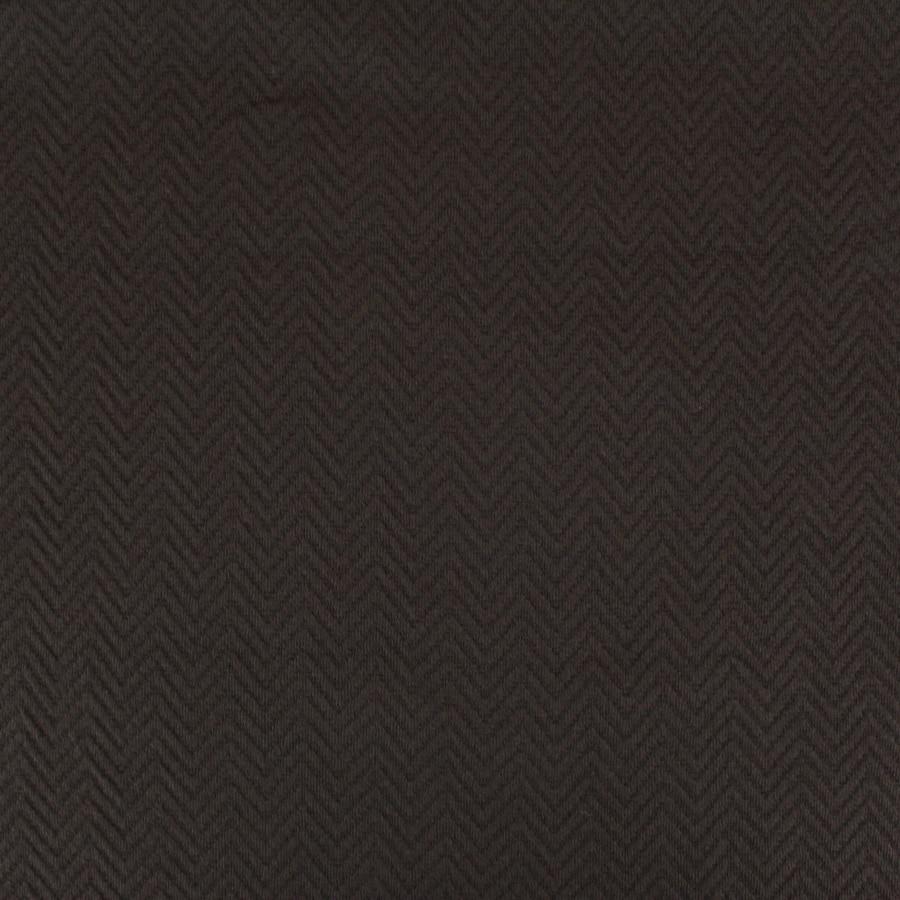 Tissu Pull chevrons - chocolat