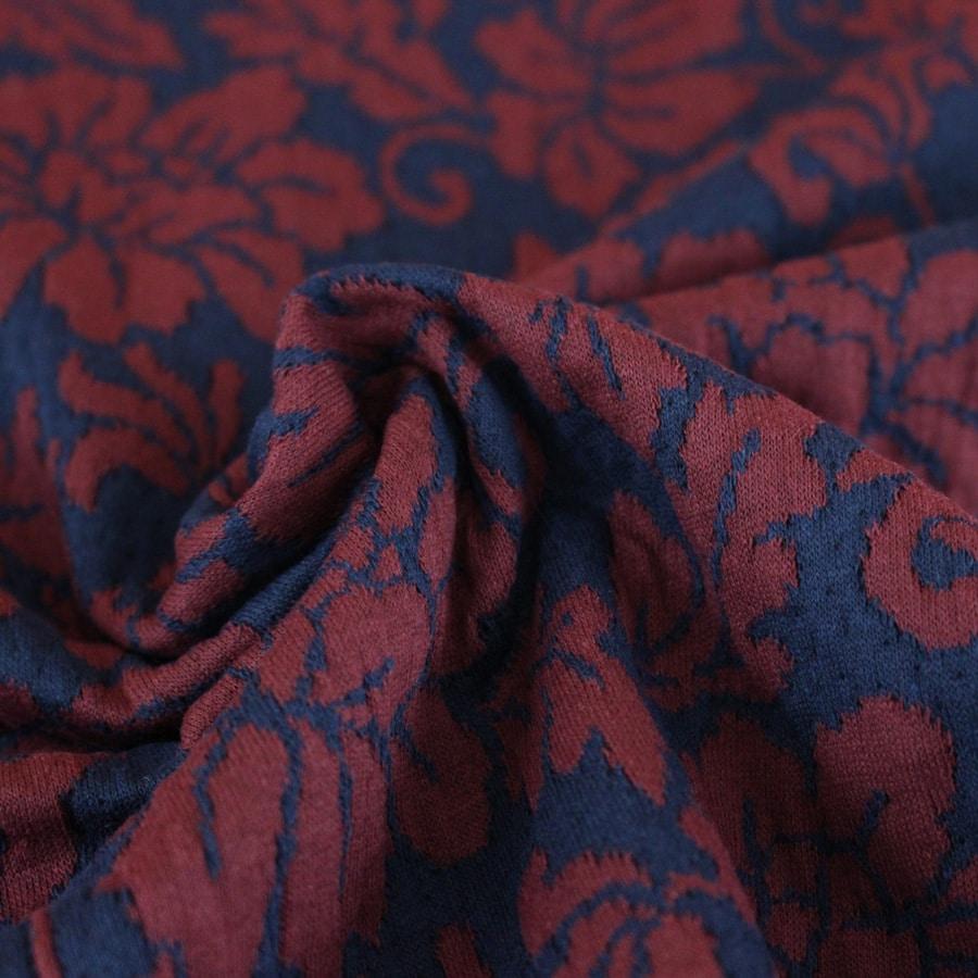 Tissu Baroque à fleurs