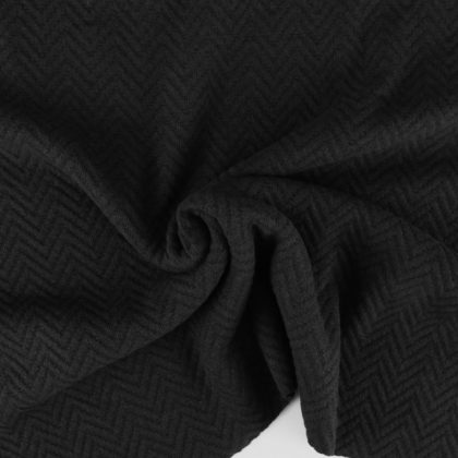 Pull chevrons - noir