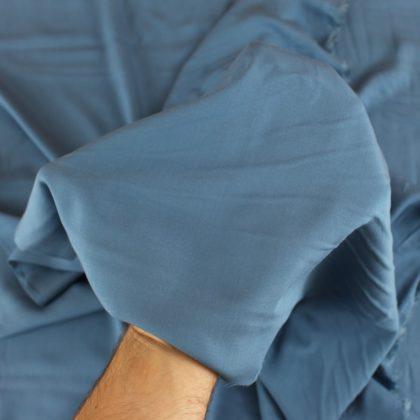 Tissu Viscose - bleu jean