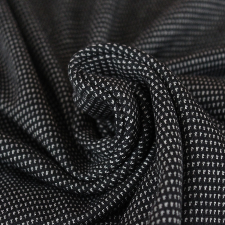 Maille jacquard croisillons