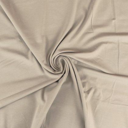 Jersey de coton bio - beige