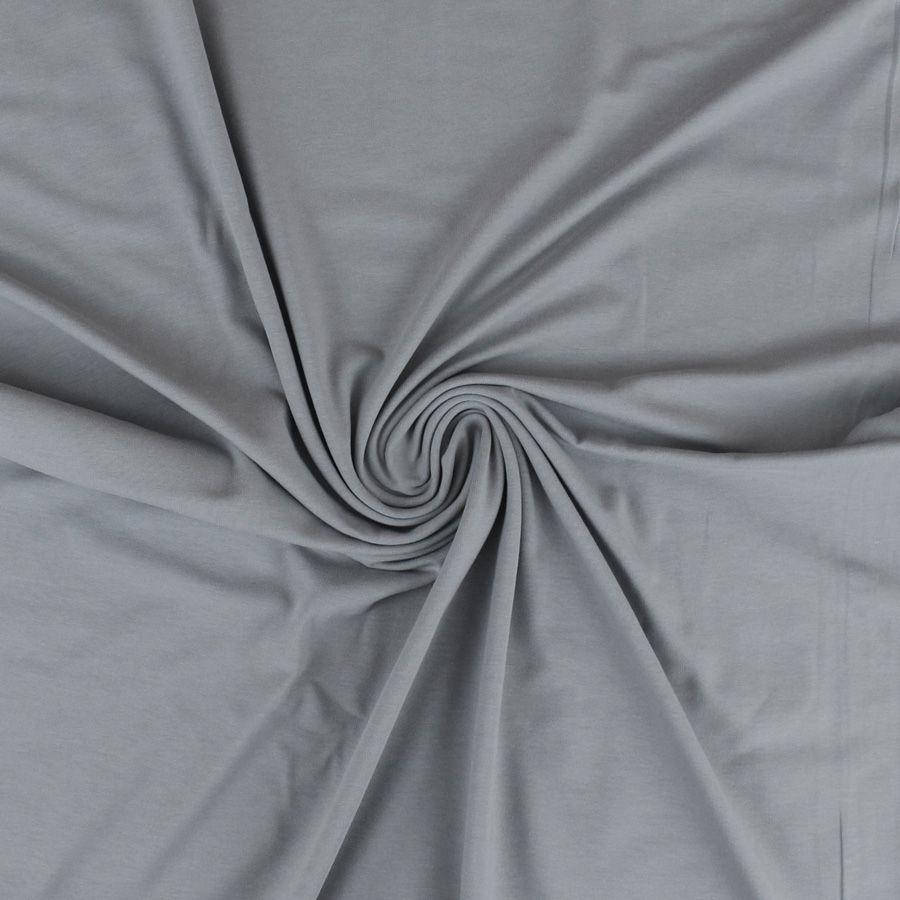 Jersey de coton bio - gris