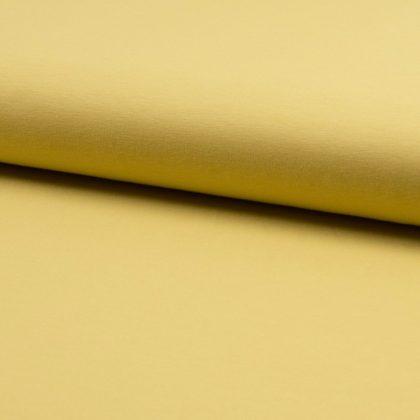 Jersey de coton bio - jaune