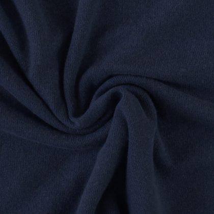 Maille pull brossée - bleu marine