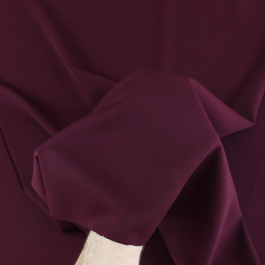 Gabardine stretch - bordeaux