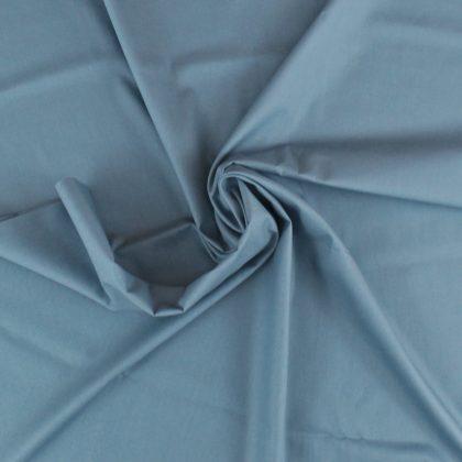 Popeline bio - bleu