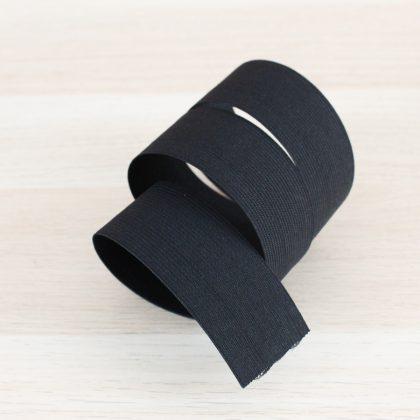 Elastique Caleçon 40mm - noir